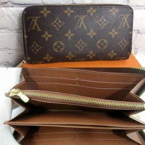 ❤️Zippy Louis Vuitton zip around wallet